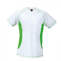 Camiseta Poliester Combinada - TECNIC COMBI